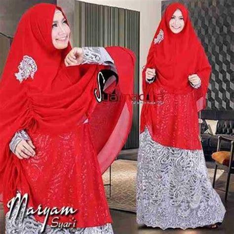 Baju Gamis Syari Jersey Syana Gamis Wanita Muslim Gamis Polos Jersey baju pesta muslim brokat maryam syar i syalmadina
