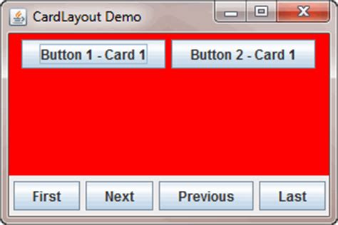 card layout java gui program for card layout in java todaychefws over blog com