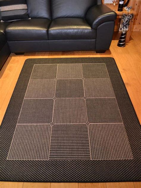 Small Kitchen Floor Mats small large black and grey silver non slip kitchen floor mats rugs ebay