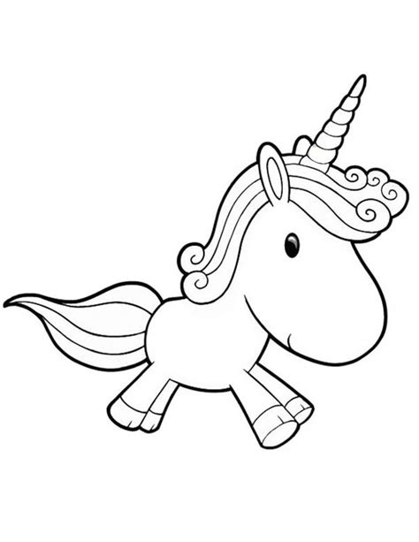 coloring pages of cute baby unicorns unicorn a lovely unicorn toy doll for girl coloring