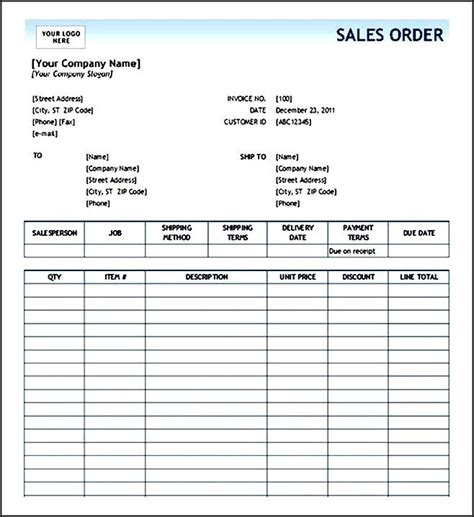 Photography Order Form Template Excel by Order Form Template Excel Enom Warb Co