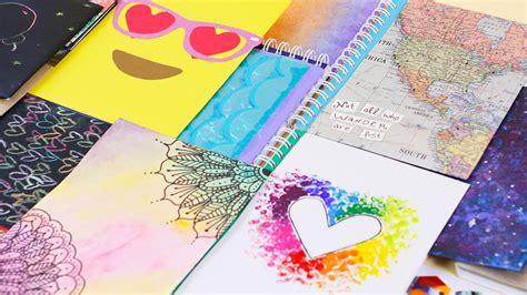 videos de como decorar libretas las mejores ideas para decorar tus cuadernos craftingeek
