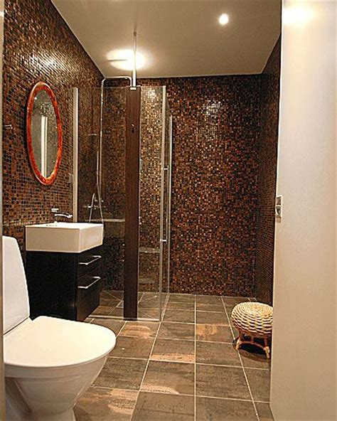 bathroom in brown tile part 1 in bathroom tile design ideas on floor tiles design com blog