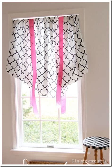 sew window curtains in an instant no sew window treatment