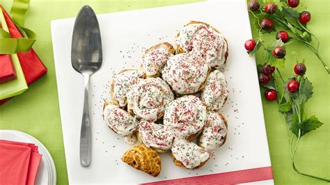 cinnamon roll christmas tree recipe from pillsbury com