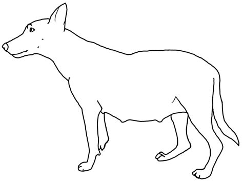 line dogs line drawing of a cliparts co