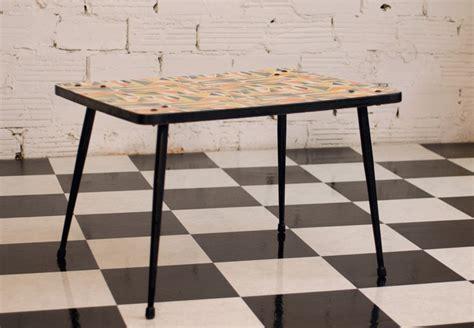 table basse vintage color 233 e 233 es 50 50s 1950