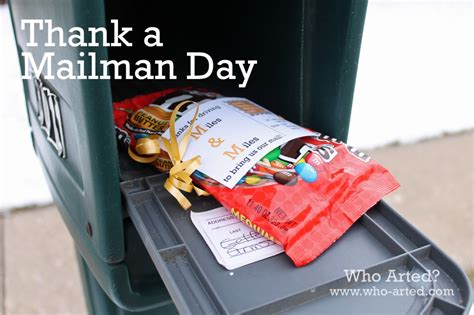 thank a mailman day who arted