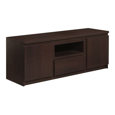 2 Door Tv Cabinet Pello 2 Door 1 Drawer Tv Cabinet In Mahogany