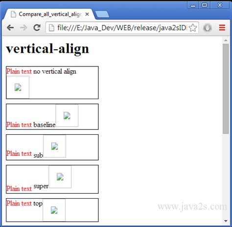 html tutorial justify text html text vertical align middle phpsourcecode net