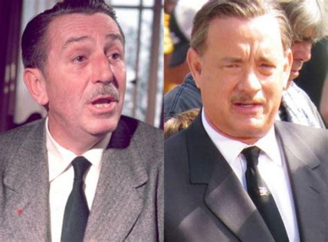 walt disney biography movie tom hanks 20 famous people and the look alike actors that bought