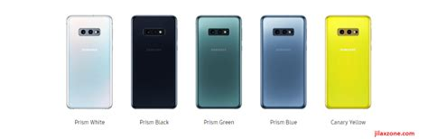 Samsung Galaxy S10 Colors by Samsung Galaxy S10 Different Region Different Color Availability Yellow And Pink Are Limited