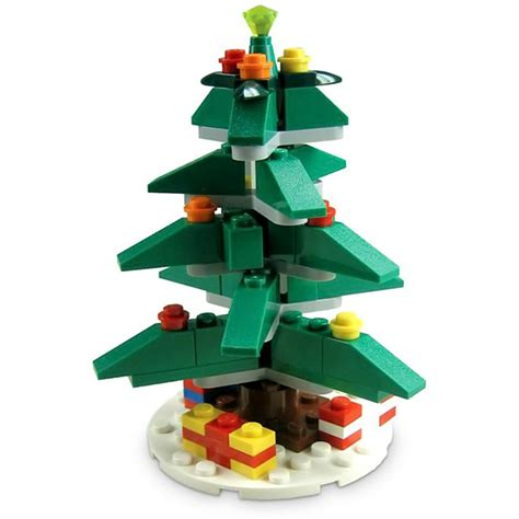 Christmas Ornaments To Put Pictures In - lego christmas tree