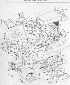 bolens lawn tractor wiring diagram bolens free engine