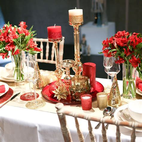 table decoration ideas ideas for christmas table decorations quiet corner