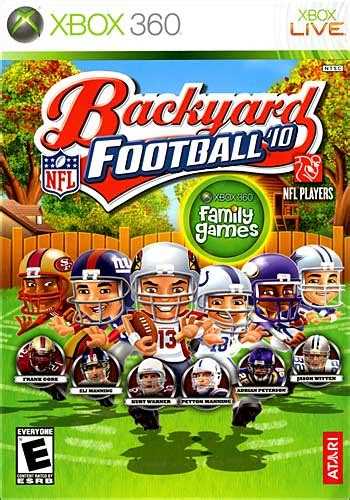 backyard football games backyard football 10 video games guide ps vita ps4
