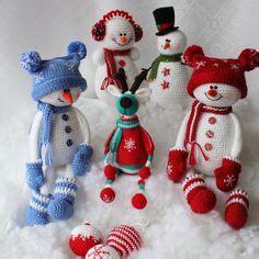 Elsa Sock Snowman Alyona Dudakova Crochet