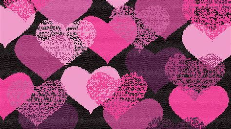 wallpaper of pink heart pink hearts wallpapers wallpaper cave