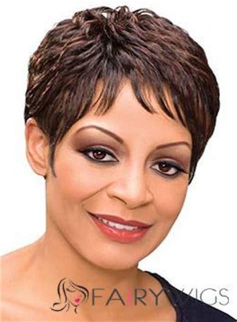 trendy hair styles for wigs sweety short wavy gray african american lace wigs for women 6 inch wigs pinterest short