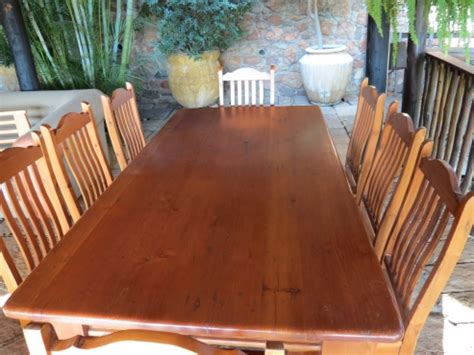 pine dining room sets 8 seater oregon pine dining room set pretoria