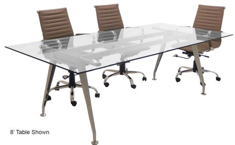 tempered glass conference table glass top conference tables free shipping