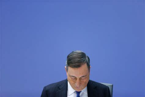 presidente della centrale europea mario draghi continua a sostenere l ma potrebbe non