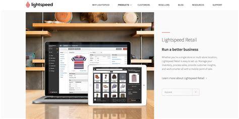 Lightspeed Pos Breaks Into Ecommerce Marketing Magazine Lightspeed Ecommerce Templates