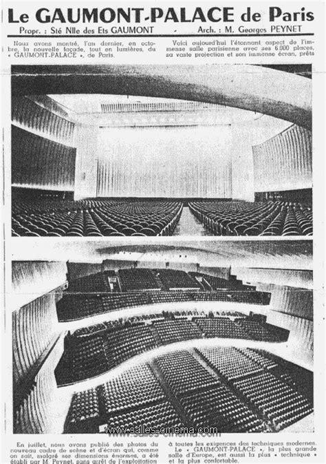 Cinéma Gaumont Palace à Paris | Salles-cinema.Com