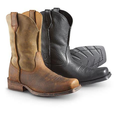 s ariat 174 rambler western cowboy boots 282582 cowboy