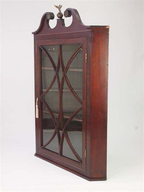 antique corner for sale antique georgian mahogany corner cupboard for sale