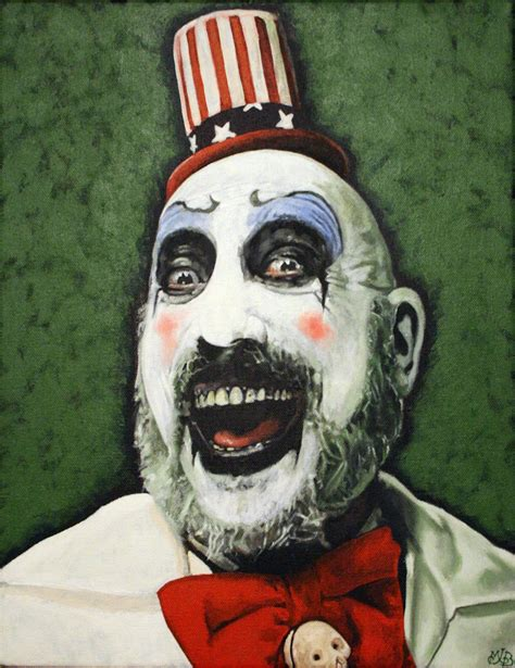 house of a thousand corpses clown captain spaulding house of 1000 corpses the devil s