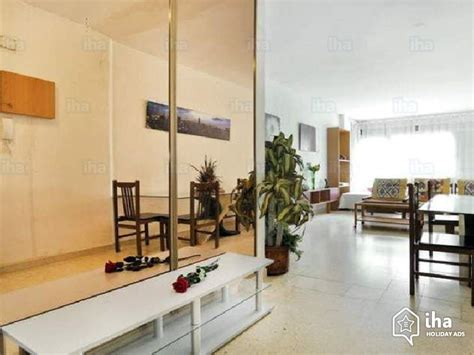 rent appartment in barcelona apartment flat for rent in barcelona iha 53198