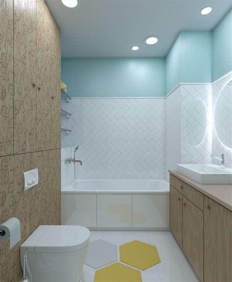 adventure time bathroom bright homes in three styles pop art scandinavian and modern