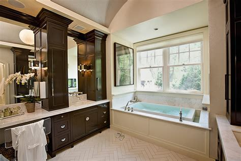 Brown Bathroom Furniture Brown Bathroom Vanity Contemporary Bathroom Carole Freehauf