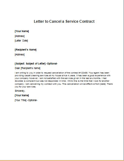 wyndham contract cancellation letter letter cancelling contract sle resume for food