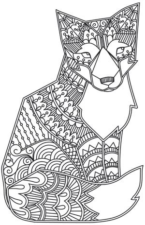 coloring pages animals patterns hard animal pattern coloring pages getcoloringpages com