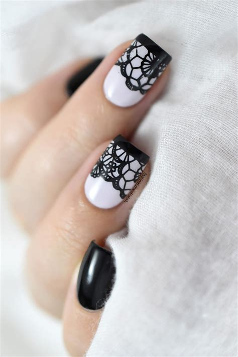 nail art lace tutorial nailstorming saint valentin lace nail art video