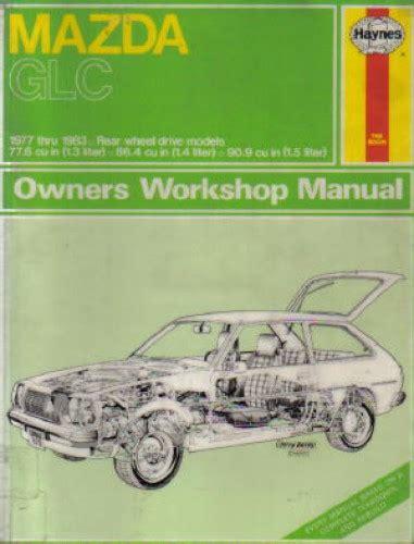 car repair manuals online pdf 1984 mazda glc electronic valve timing 1984 mazda glc repair manual free 1982 mazda glc repair shop manual original mazda b2000