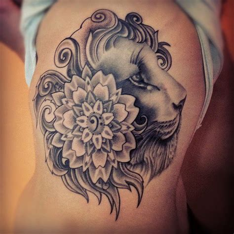 feminine lion tattoos 55 amazing designs and meaning choose yours