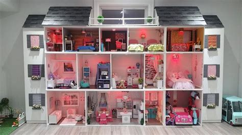 my barbie doll house tour 25 b 228 sta barbie house tour id 233 erna p 229 pinterest barbie furniture och barbiehus