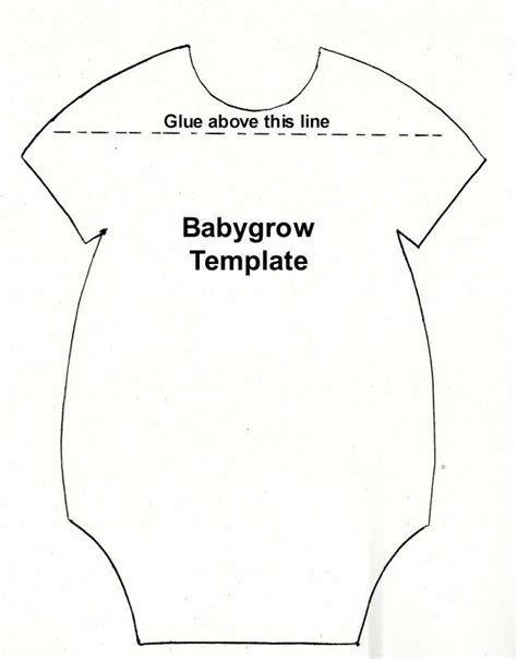 baby card template babygrow template baby shower boys and