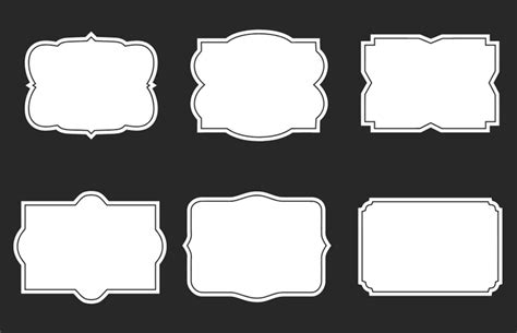 free photoshop shapes frames 11 vector badge shapes images vector shield shape