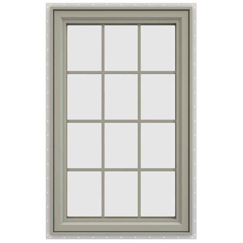 jeld wen awning windows jen weld windows craftsman 6 lite painted steel prehung
