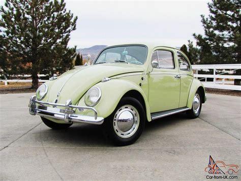green volkswagen all original beryl green 1962 volkswagen vw beetle bug 6v