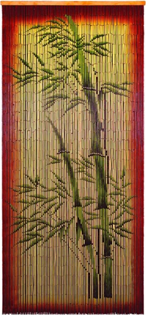 bamboo door with bamboo tree decoration