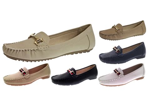 driving comfort womens faux leather driving comfort shoes moccasins