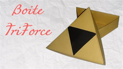 Origami Legend - origami boite triforce triforce box box
