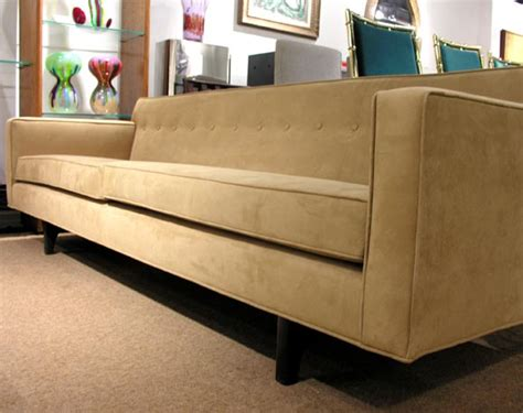sofa no back sofa no 133 with back struts designed by edward wormley