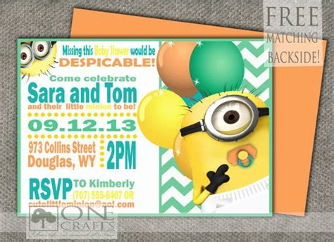 Minion Themed Baby Shower by Best 20 Minion Baby Shower Ideas On Minion