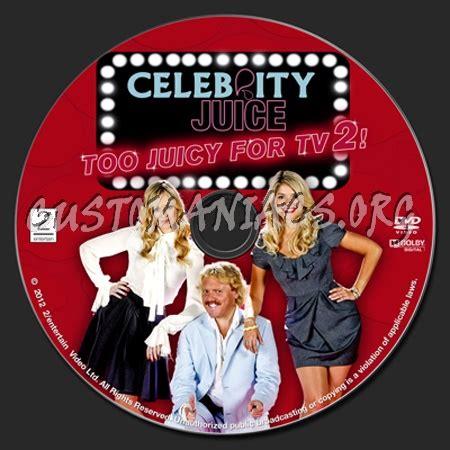 celebrity juice download celebrity juice too juicy for tv 2 dvd label dvd